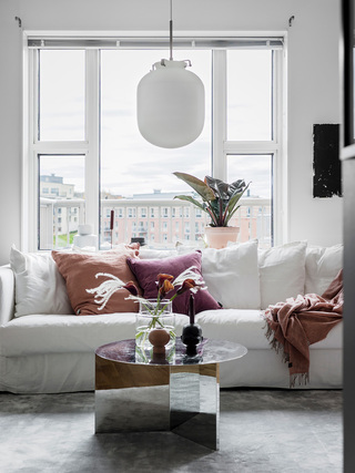 45平米小户型公寓装修沙发布置图