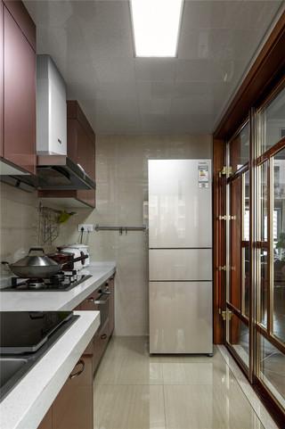 美式风格四居室厨房装修效果图