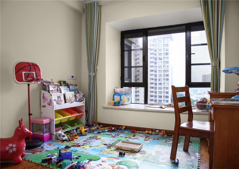 美式风格四居室儿童房装修效果图