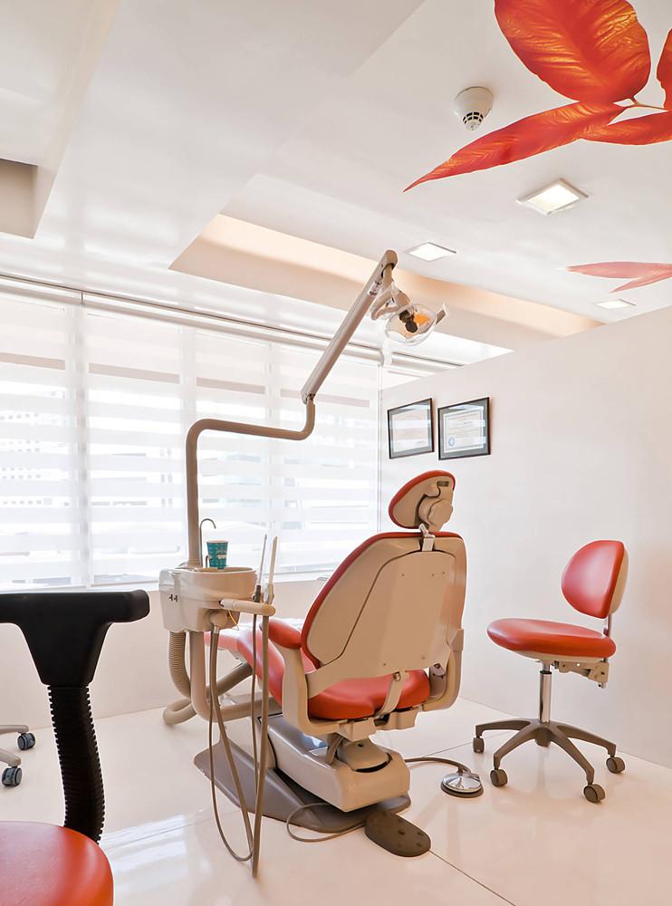 牙医卫生所装修效果图 前卫现代