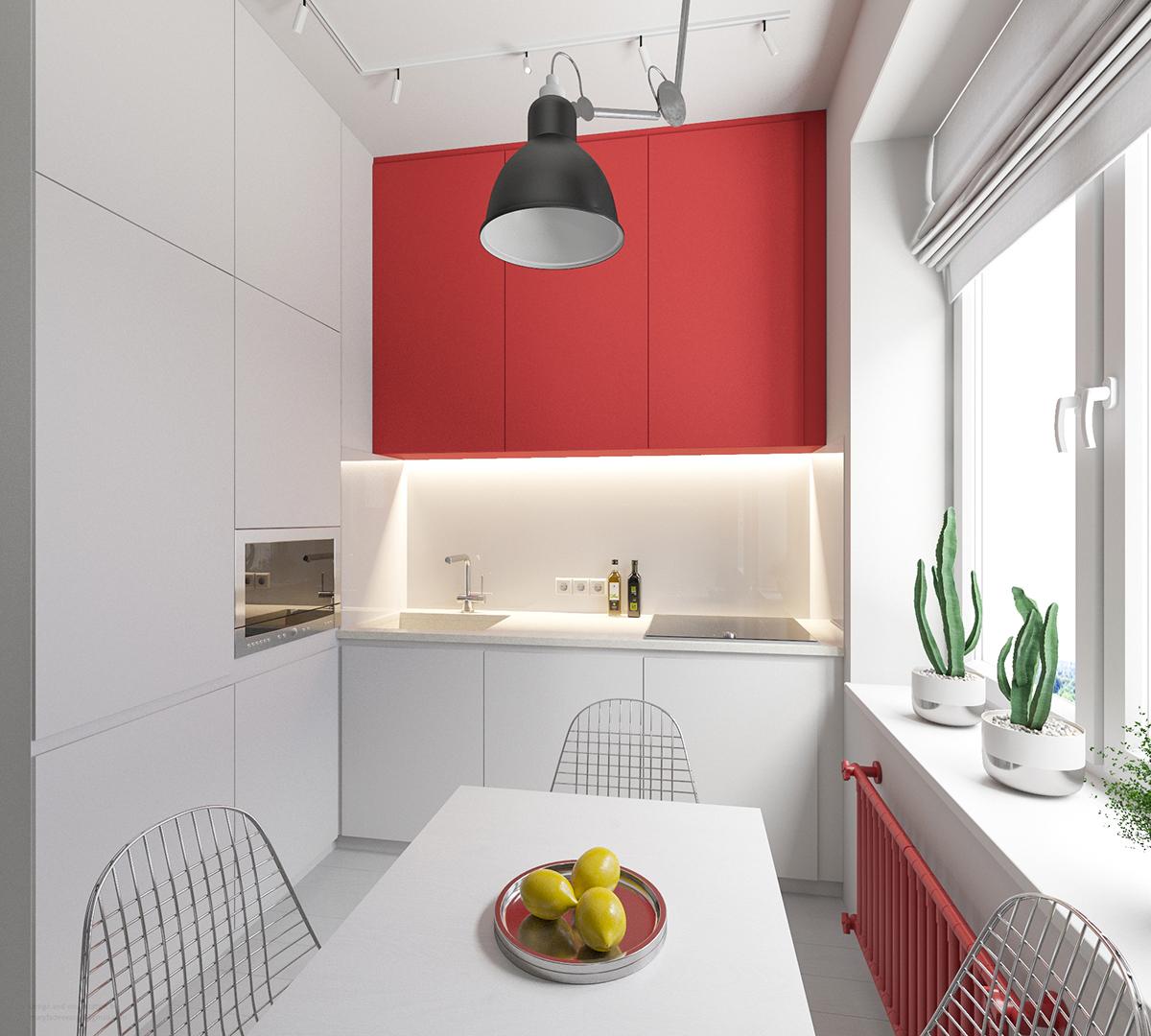 30平简约风公寓厨房装修效果图
