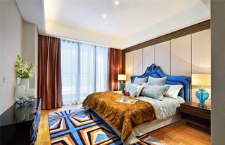后现代风格三居卧室装修效果图