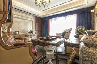 古典美式风格客厅装修效果图