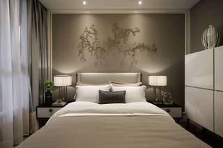 现代轻奢样板房卧室装修效果图