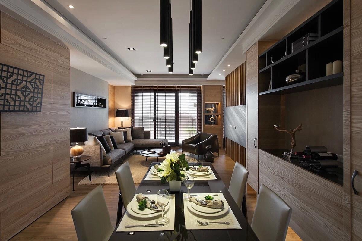110平米现代风格餐厅装修效果图