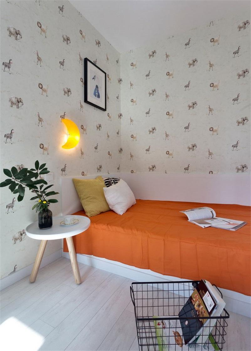 北欧风格二居儿童房装修效果图