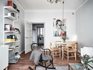 北欧风小户型公寓餐厅装修效果图