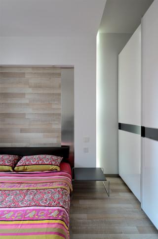 简约风格三居卧室装修效果图
