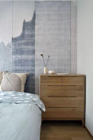 96平米新中式装修床头柜设计
