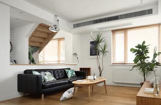 复式北欧风格客厅装修效果图