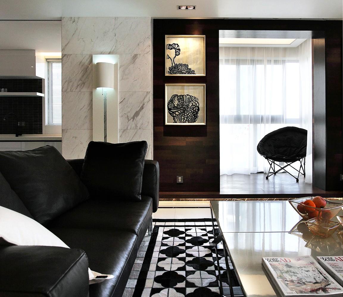 142㎡现代简约风格客厅装修效果图