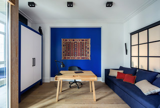 大户型公寓书房装修效果图