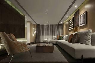 大户型现代风格地下室装修效果图
