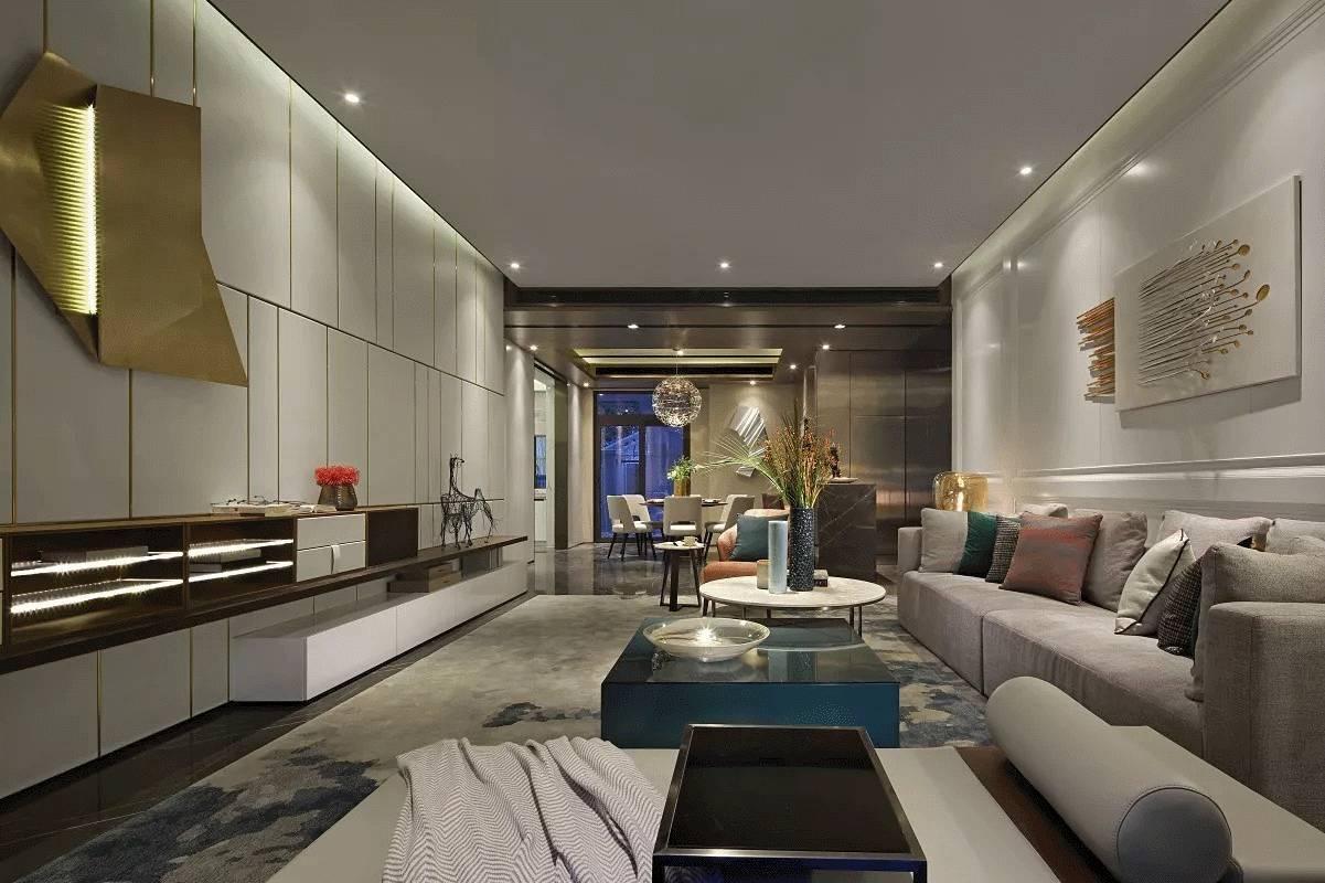 大户型现代风格客厅装修效果图