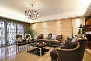 三居室欧式风格装修效果图