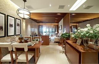 三居室东南亚风格餐厅每日首存送20