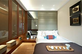 三居室东南亚风格卧室每日首存送20