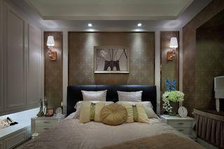 130平欧式风格卧室装修效果图