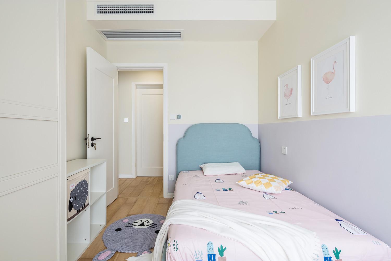 清新北欧风格儿童房装修效果图