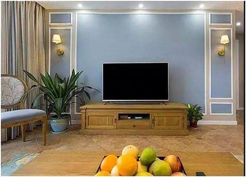 石膏线电视墙造型有哪些  石膏线电视墙装修注意事项