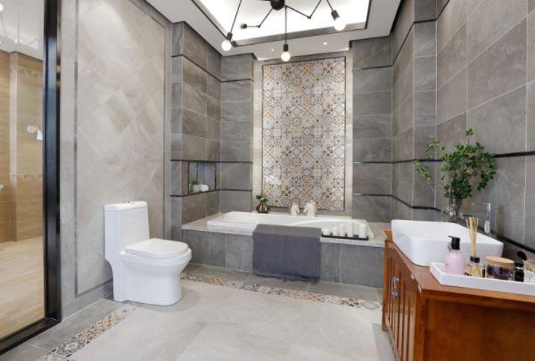 【宜昌装修】卫生间铺什么地砖好 卫生间瓷砖如何铺贴