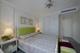 美式风格三居卧室每日首存送20