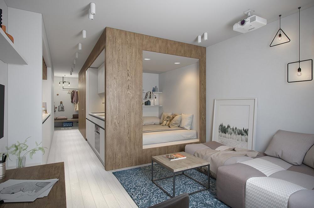 30平米公寓卧室装修效果图