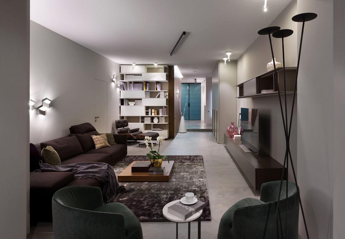 时尚现代公寓客厅装修效果图
