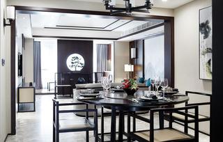 大户型新中式风格餐厅装修效果图