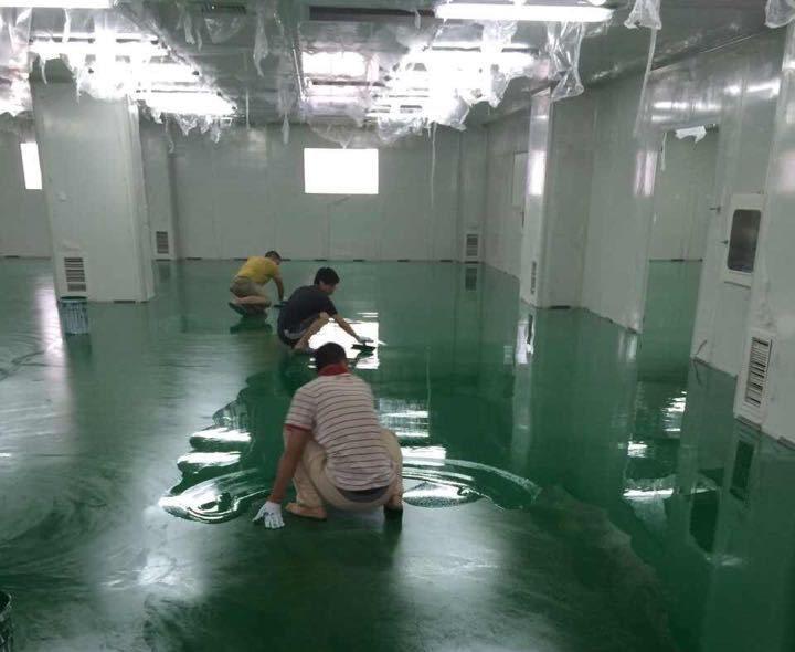 地平漆施工工艺流程 地平漆施工对空间环境的要求