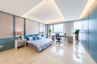 大户型新古典风格卧室装修效果图