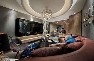 时尚现代样板房装修效果图