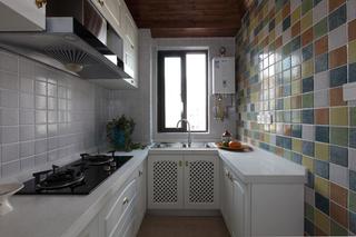 混搭风格二居厨房装修效果图