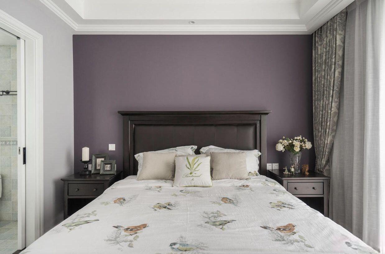 137㎡美式风格卧室装修效果图