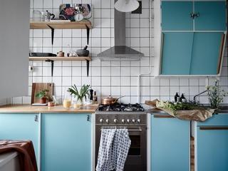 52㎡北欧风公寓厨房装修效果图