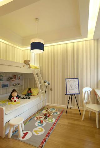 现代简约风格二居儿童房装修效果图