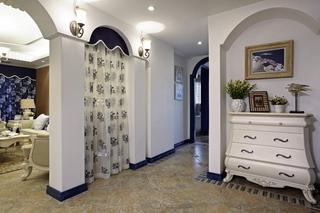 地中海风格四居室过道装修效果图