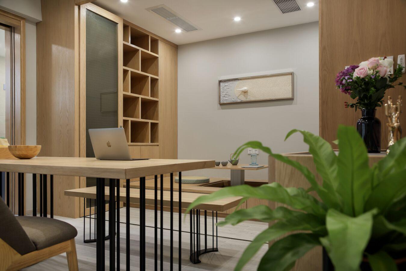 160平现代三居室榻榻米装修效果图