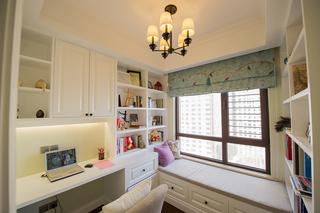 三居室美式风格书房装修设计图