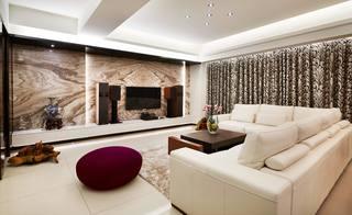 时尚新古典风格客厅装修效果图