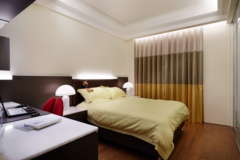 时尚新古典风格卧室装修搭配图