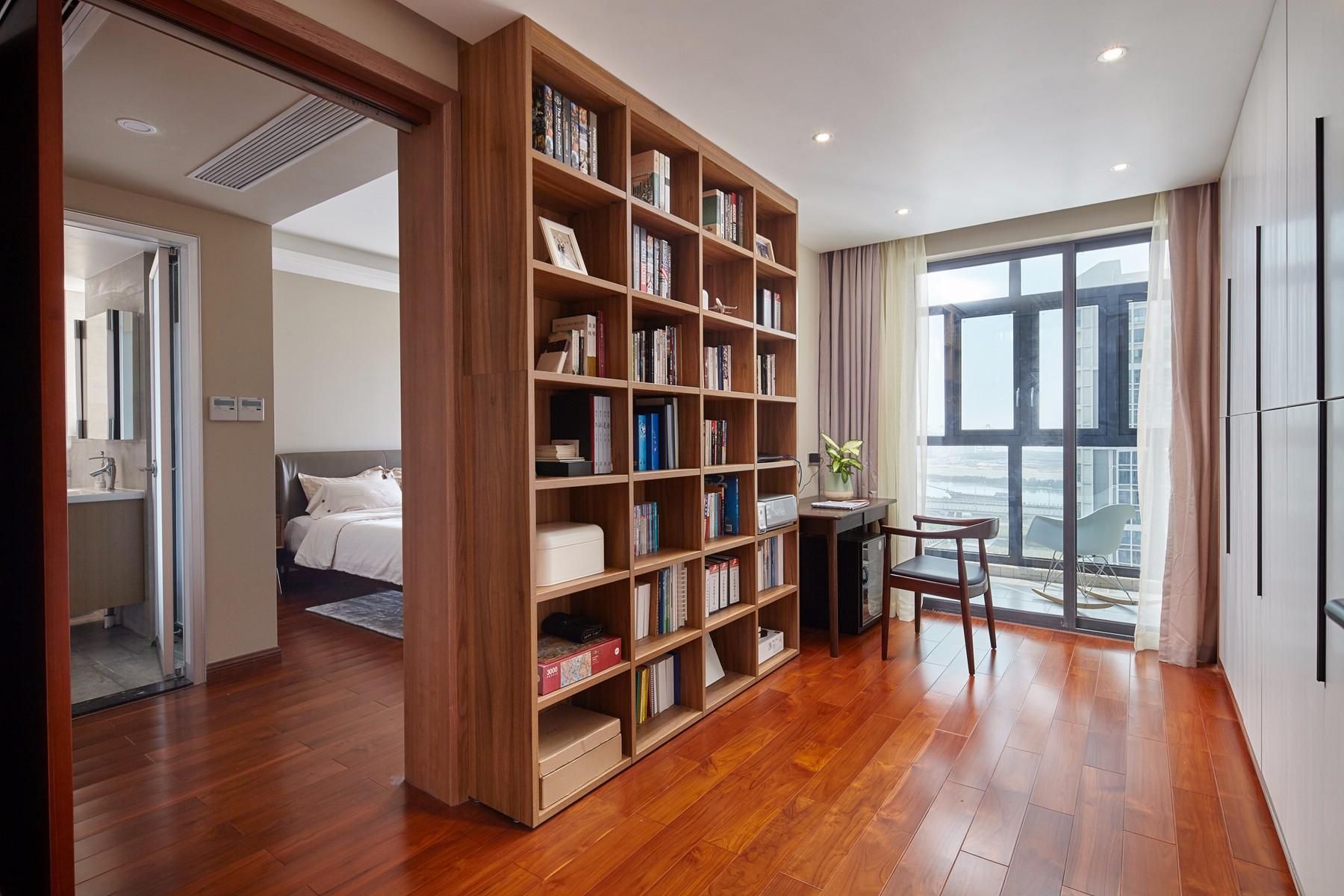 185平米混搭风格书房装修效果图