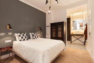 北欧混搭风格三居卧室装修效果图