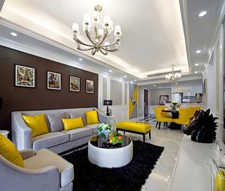 大户型欧式风格客厅装修设计图