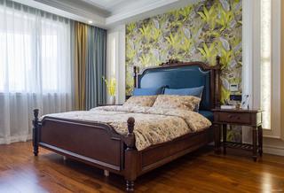 130㎡美式混搭卧室装修效果图