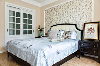 134㎡美式风格卧室装修效果图