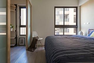 92平米工业风格卧室装修效果图