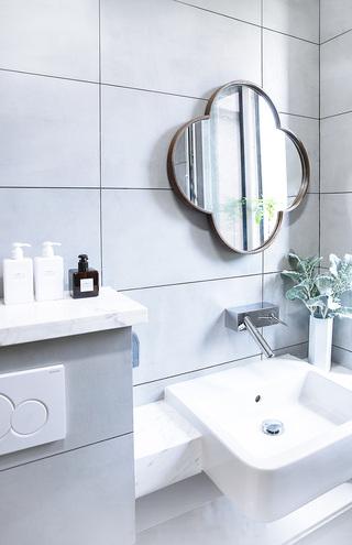 北欧简约二居室洗手台装修效果图