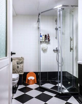 北欧风格两居室卫生间装修设计图