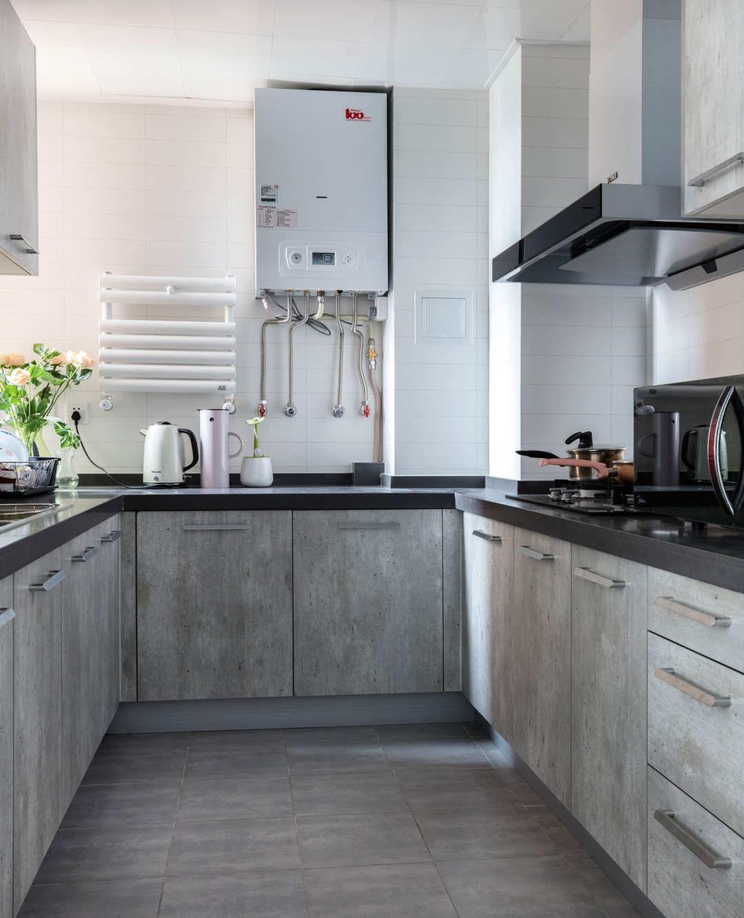 北欧风格两居室厨房装修设计图